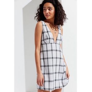 Urban Outfitters plaid tank dress